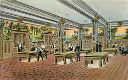 BILLIARD ROOM OF HOTEL STATLER