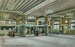 LOBBY OF HOTEL STATLER