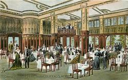 DINING ROOM OF HOTEL STATLER