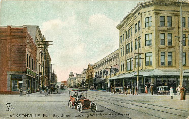 BAY STREET, LOOKING WEST FROM MAIN STREET
