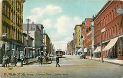 JEFFERSON STREET, LOOKING WEST