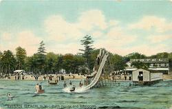 BATH HOUSE AND TOBOGGAN