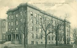 THE BELMONT COLLEGE SCHOOL OF MUSIC (FIDELITY HALL)