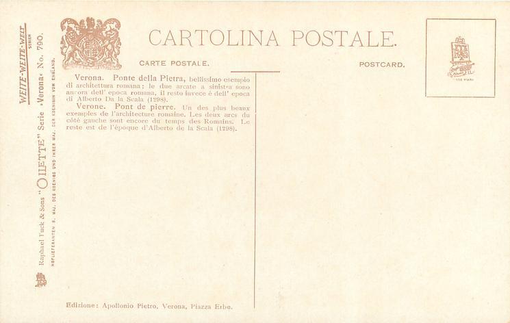 PONTE DELLA PIETRA E CASTEL & PIETRO