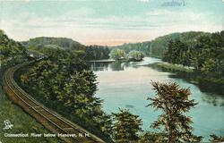 CONNECTICUT RIVER BELOW HANOVER, N.H.