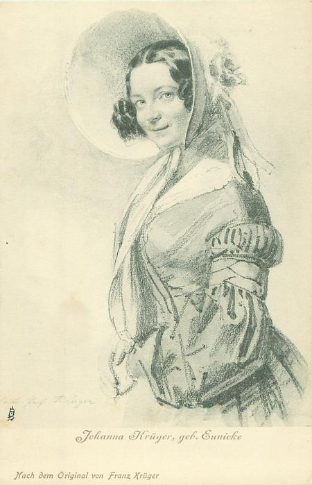 JOHANNA KRUGER, GEB. EUNICKE