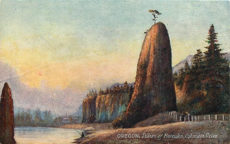PILLARS OF HERCULES, COLUMBIA RIVER