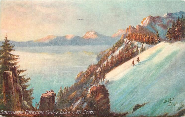 SOUTHERN OREGON CRATER LAKE &  MT. SCOTT
