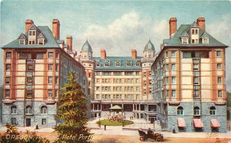 PORTLAND, HOTEL PORTLAND
