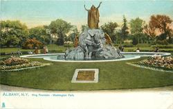 KING FOUNTAIN - WASHINGTON PARK