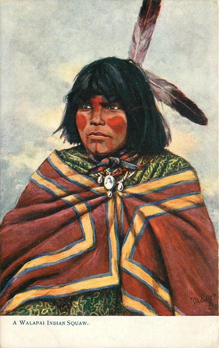 A WALAPAI INDIAN SQUAW