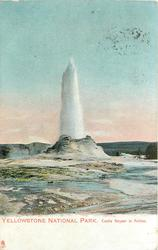 CASTLE GEYSER IN ACTION