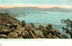 HEAD OF YELLOWSTONE LAKE