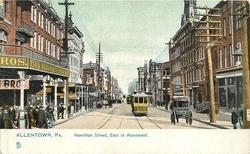 HAMILTON STREET, EAST OF MONUMENT