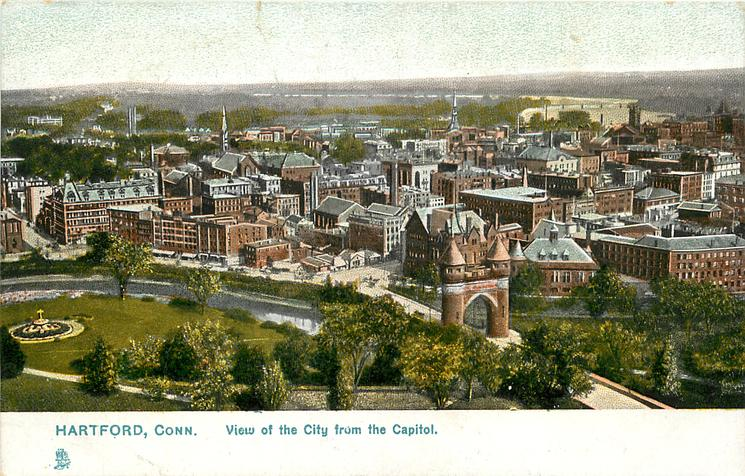 VIEW OF THE CITY FROM THE CAPITOL