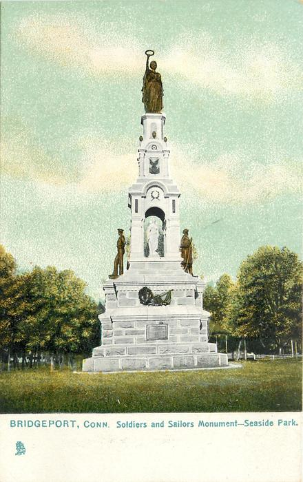 SOLDIERS AND SAILORS MONUMENT - SEASIDE PARK