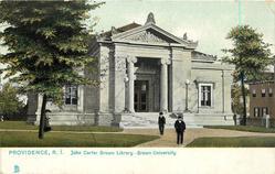JOHN CARTER BROWN LIBRARY - BROWN UNIVERSITY