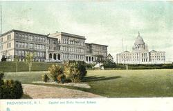 CAPITOL AND STATE NORMAL SCHOOL