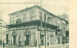 THE OLD ABSINTHE HOUSE - FRENCH QUARTER
