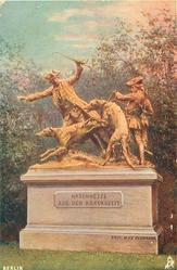 BERLINER TIERGARTEN (back), HASENHETZE AUS DER ROKOKOZEIT