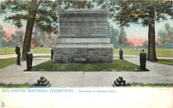 MONUMENT TO UNKNOWN DEAD