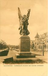 CONFEDERATE SOLDIERS AND SAILORS MONUMENT