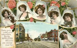 COLLEGE AVENUE, APPLETON, WIS.