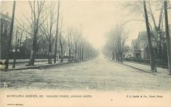 COLLEGE STREET, LOOKING SOUTH