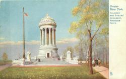 SOLDIERS' AND SAILORS' MONUMENT, RIVERSIDE DRIVE
