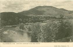 ASCUTNEY MOUNTAIN FROM HIGH BRIDGE