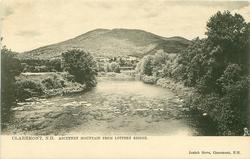 ASCUTNEY MOUNTAIN FROM LOTTERY BRIDGE