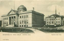 PUBLIC LIBRARY, MEMORIAL HALL