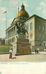 HOOKER MONUMENT AND STATE HOUSE