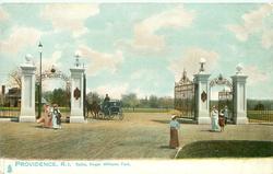 GATES, ROGER WILLIAMS PARK