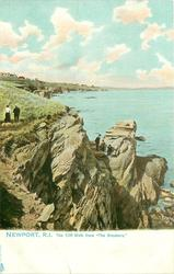 """THE CLIFF WALK FROM """"THE BREAKERS"""""""