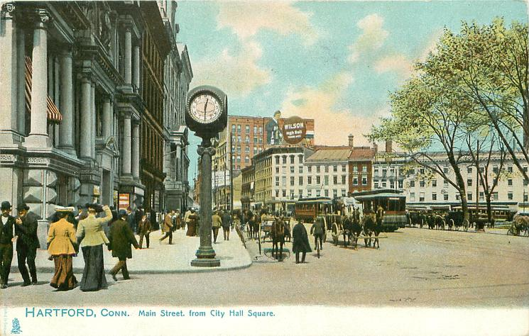 MAIN STREET FROM CITY HALL SQUARE