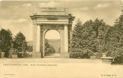 GATE, NATIONAL CEMETERY