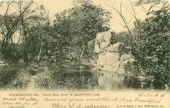 """DOG'S HEAD ROCK"" IN BRANDYWINE PARK"
