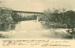 WASHINGTON BRIDGE ACROSS THE BRANDYWINE