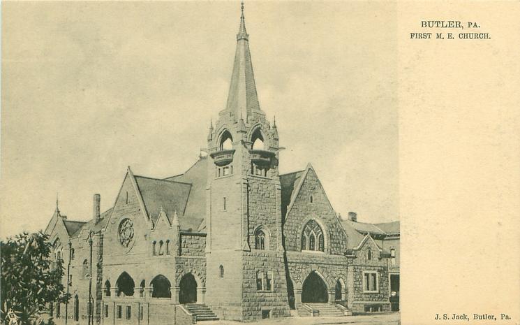 FIRST M.E. CHURCH