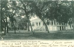 HOME OF JEFFERSON DAVIS, BEAUVOIR, NEAR BILOXI, MISS.