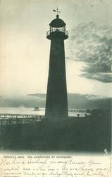 THE LIGHTHOUSE BY MOONLIGHT