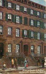 HOME OF CHESTER A. ARTHUR, 123 LEXINGTON AVENUE, NEW YORK CITY