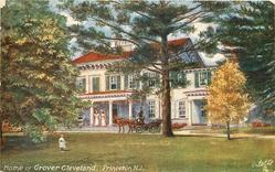 HOME OF GROVER CLEVELAND, PRINCETON, N.J.