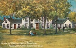 HOME OF WILLIAM HENRY HARRISON, NORTH BEND(NEAR CINCINNATI), OHIO