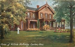 HOME OF WILLIAM MCKINLEY, CANTON, OHIO
