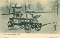 HEMPSTEAD'S FIRST FIRE ENGINE
