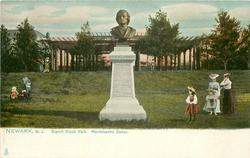BRANCH BROOK PARK, MENDELSSOHN STATUE