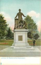 LINCOLN OR EMANCIPATION MONUMENT