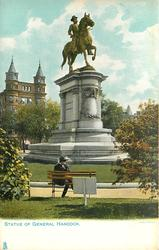 STATUE OF GENERAL HANCOCK